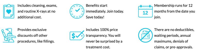 list of benefits